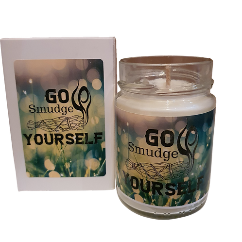 Go Smudge Yourself - Personalised Soy Candle