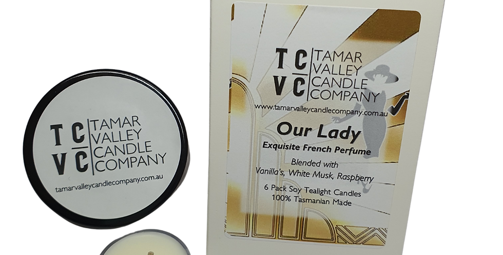 Our Lady Soy Tealights