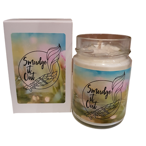 Smudge it Out! - Personalised Soy Candle