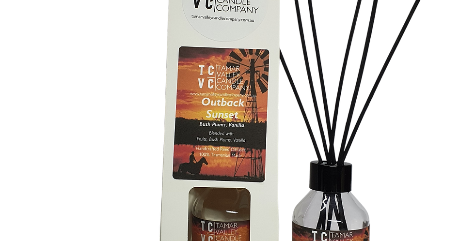 W/S Outback Sunset Reed Diffuser