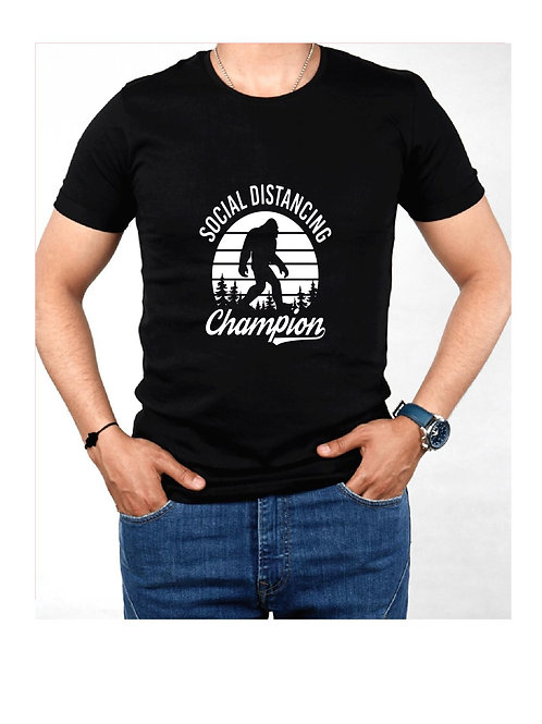 Social Distancing Champion-Custom Shirt