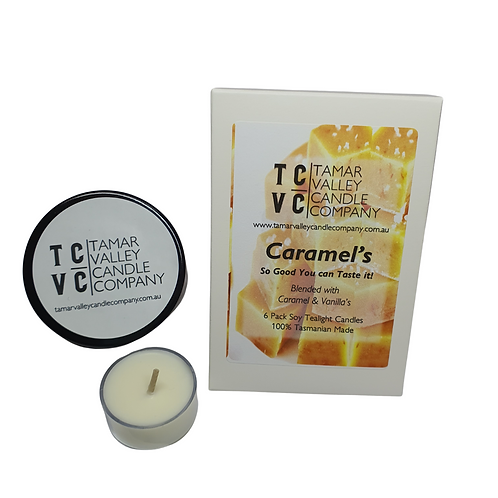 Caramel's Soy Tealights