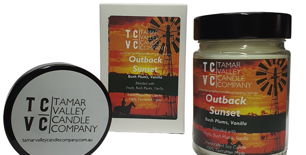 Outback Sunset Soy Candle