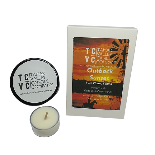 Outback Sunset Soy Tealights