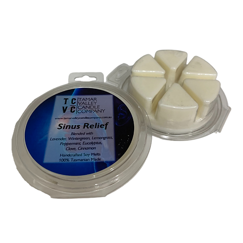 Sinus Relief Soy Wax Melts 6 Pack