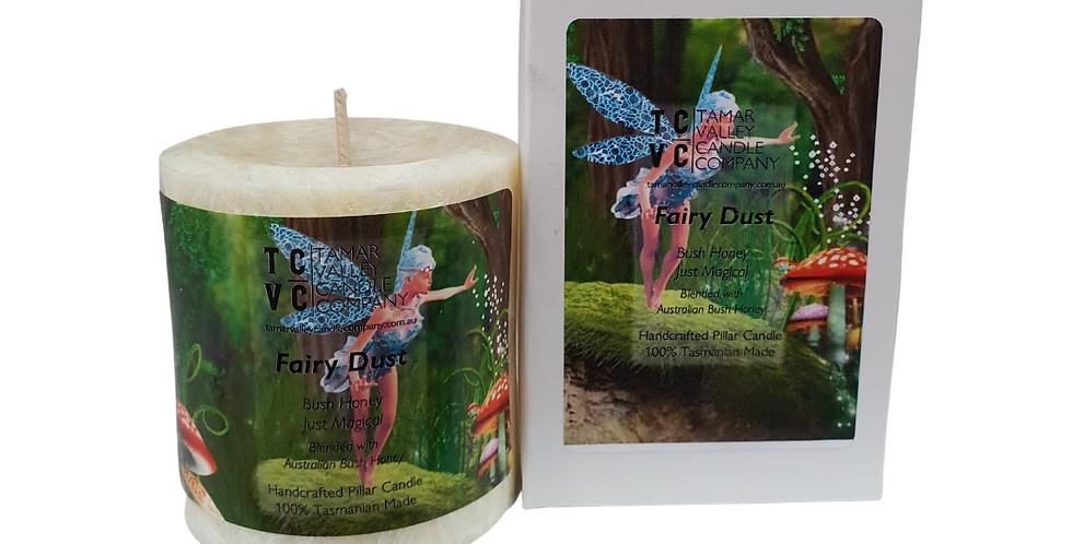 Fairy Dust Pillar Candle