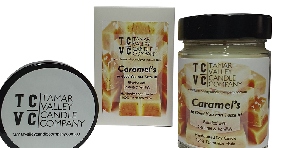W/S Caramel's Soy Candle