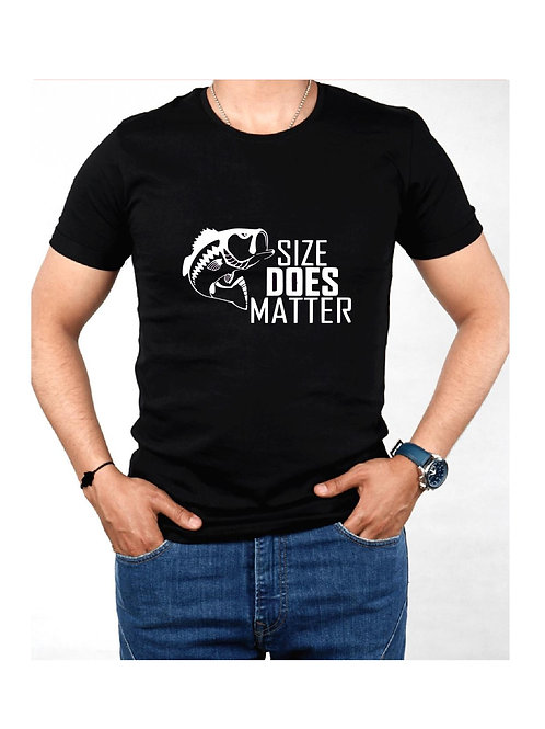 Size Does Matter Fish - Custom Shirt