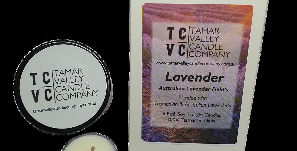 Lavender Soy Tealights