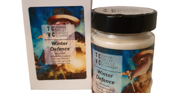 Winter Defence Soy Candle