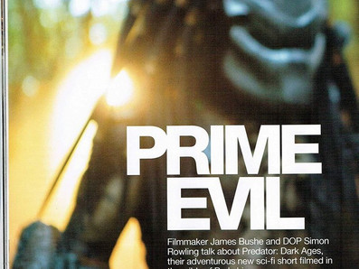 Predator Dark Ages magazine article