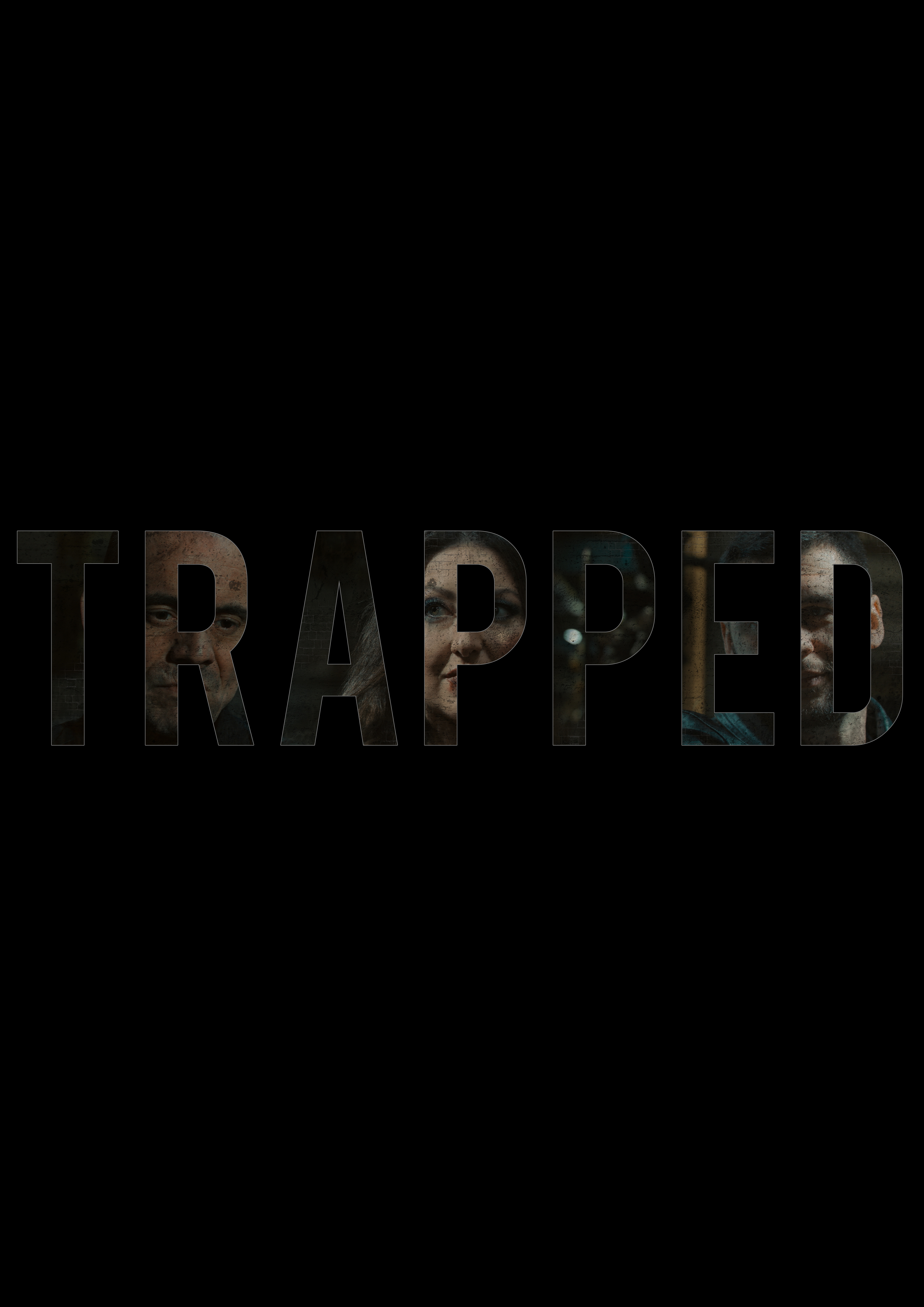 Trapped title poster