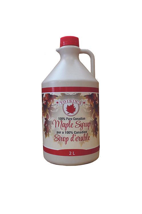 2L Jug Maple Syrup Jug