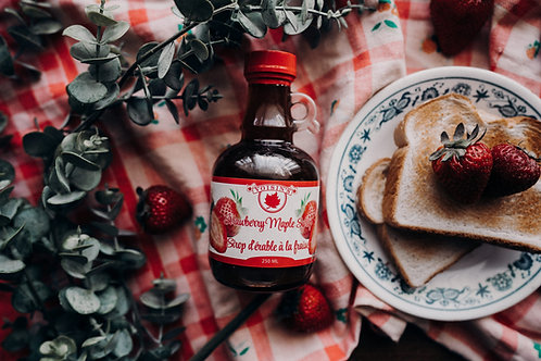 Strawberry Maple Syrup