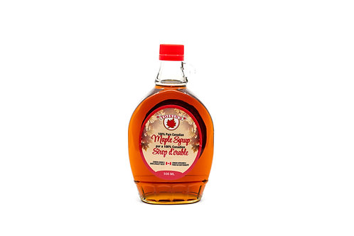 500ml Traditional Glass Maple Syrup