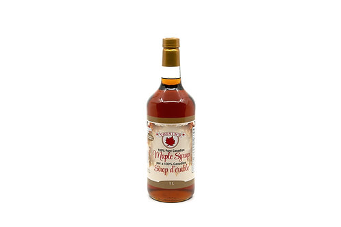 1L Maple Syrup Glass Bottle