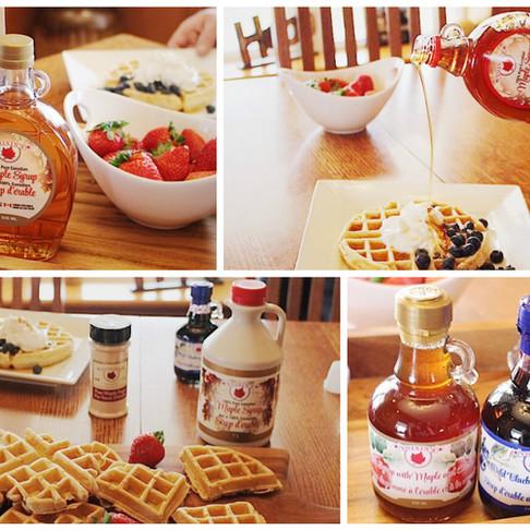 Maple Cinnamon Pancakes & Waffles