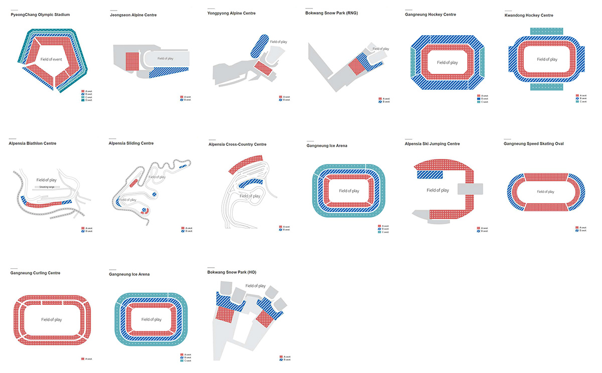 PyeongChang-2018-Schematic-venue-maps
