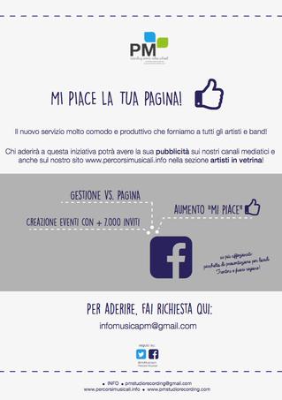 Mi piace la tua pagina!