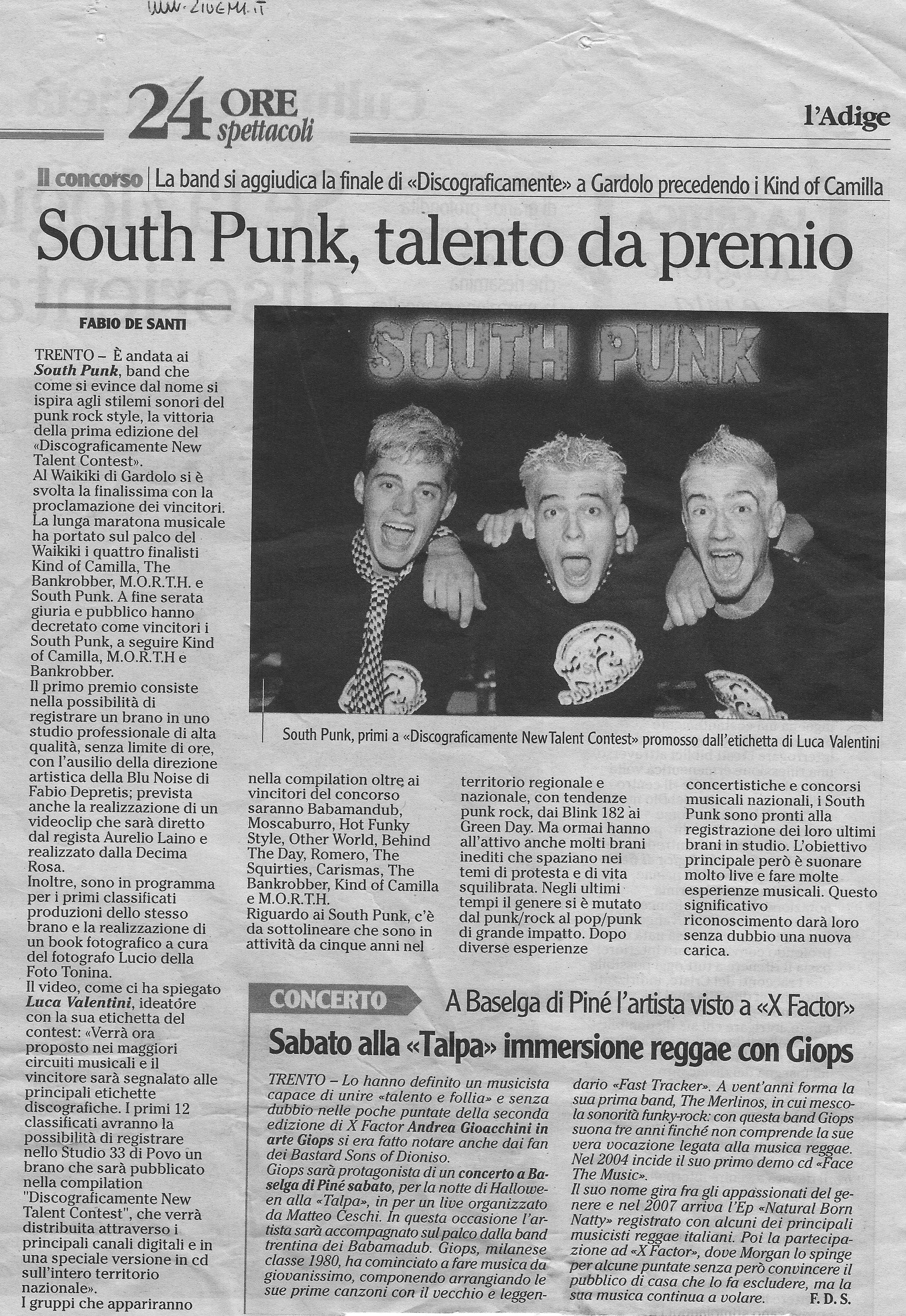south punk