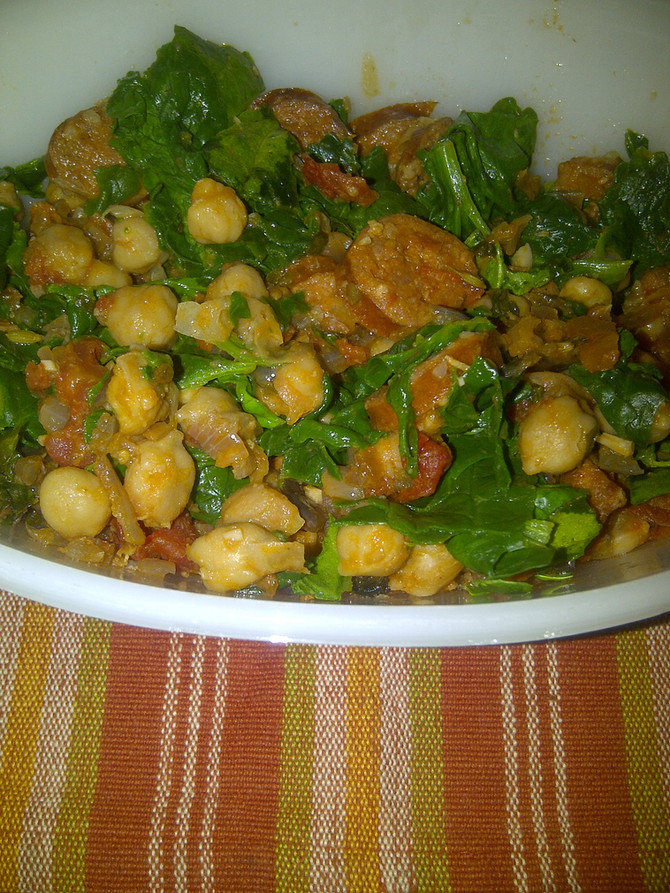 Recipe: Exotic Chickpea Stew