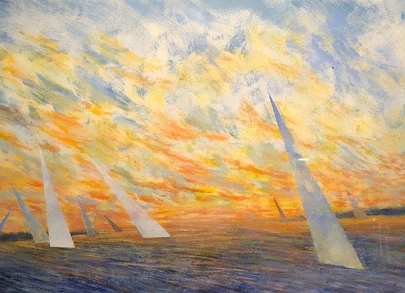 Sails Aglow