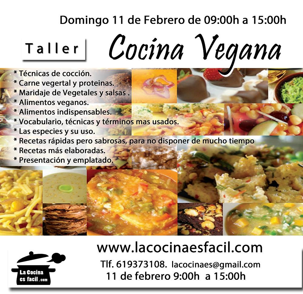 Curso/taller de Cocina Vegana