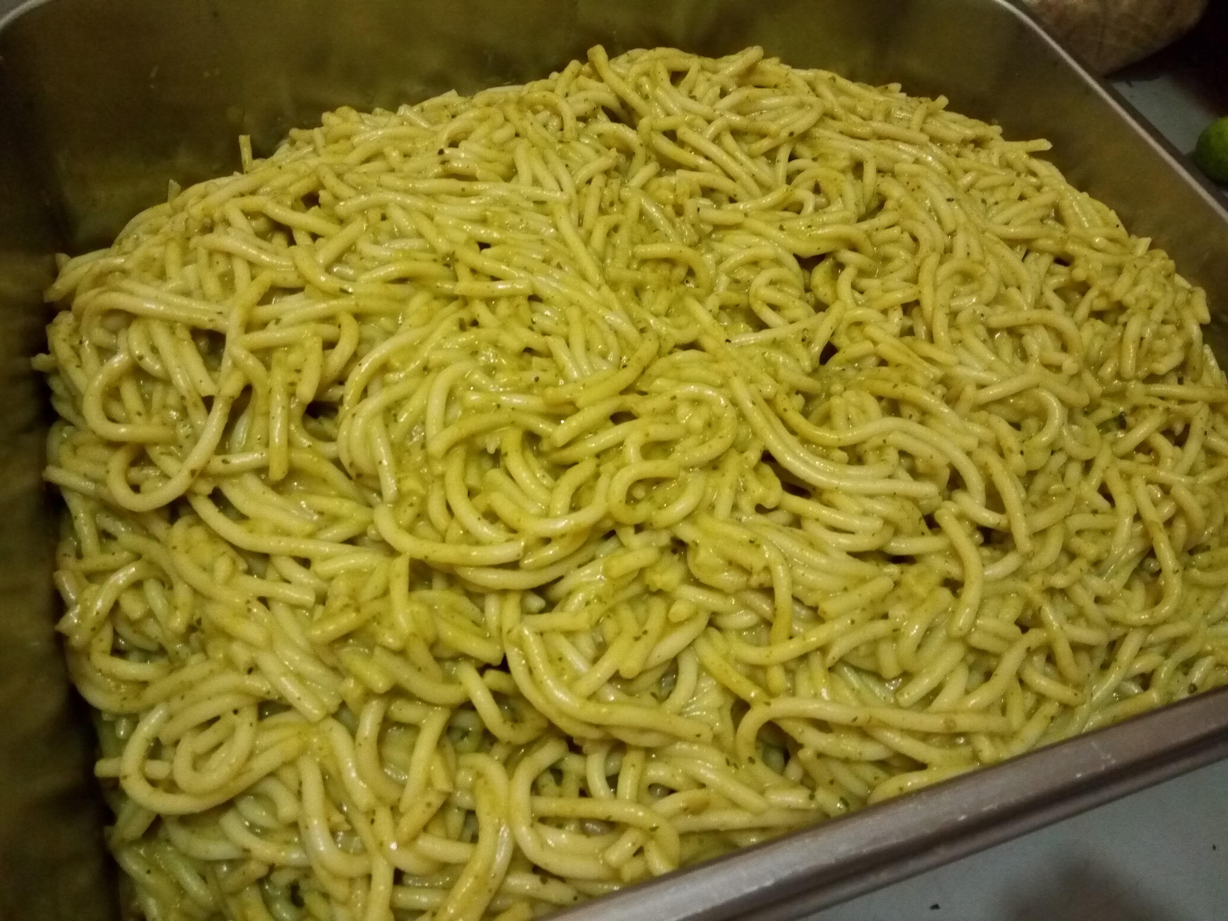 Spaguetti verde