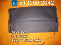 Cubre Boca desechable doble capa
