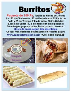 Póster Burritos