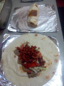 Burrito de trompo