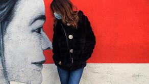 Gli ORIZZONTI di Paolo Monga. Monza e la street art piena di rosso e bianco.