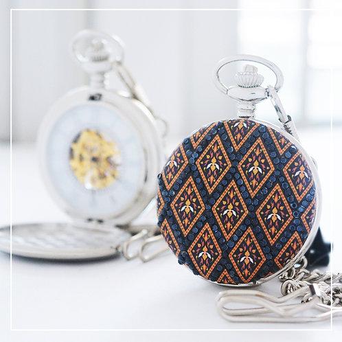 Royal Blue Thai tribe fabric