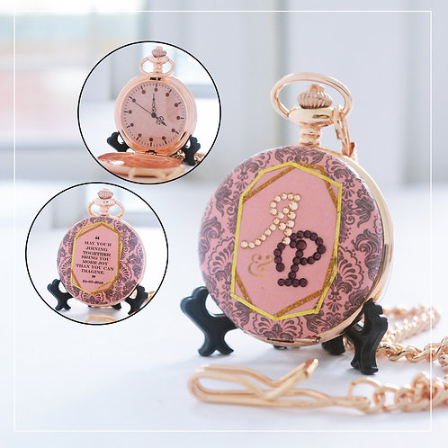 Crystallized Royal Pink