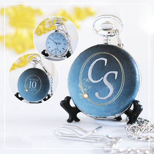 Classic Royal Blue customized Wedding Gifts for couples