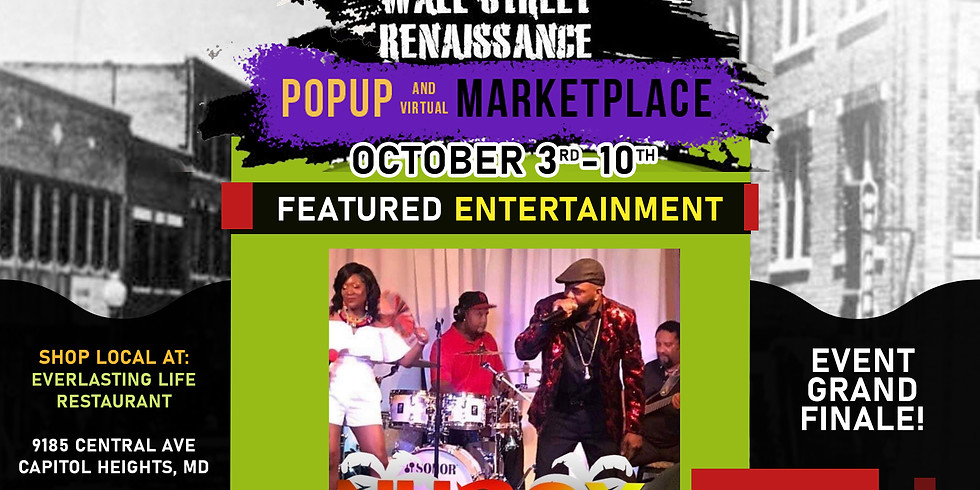 VIP GUEST: ELife Black Wall Street Renaissance Marketplace & Afterparty (October 10, 2020)