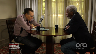 MORGAN FREEMAN PREDICTS CANNABIS LEGALIZATION WITH LARRY KING