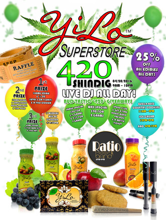 YiLo Superstore 420 SHINDIG!