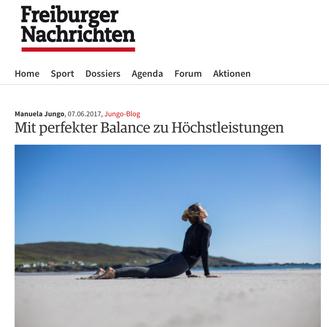 Blogger für die Freiburger Nachrichten