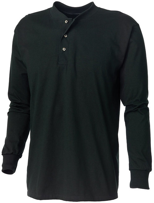 KF1202 Henley Long Sleeve Shirt