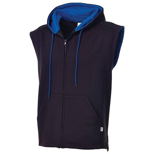 KF9046 2Tone Hooded Open Bottom Vest