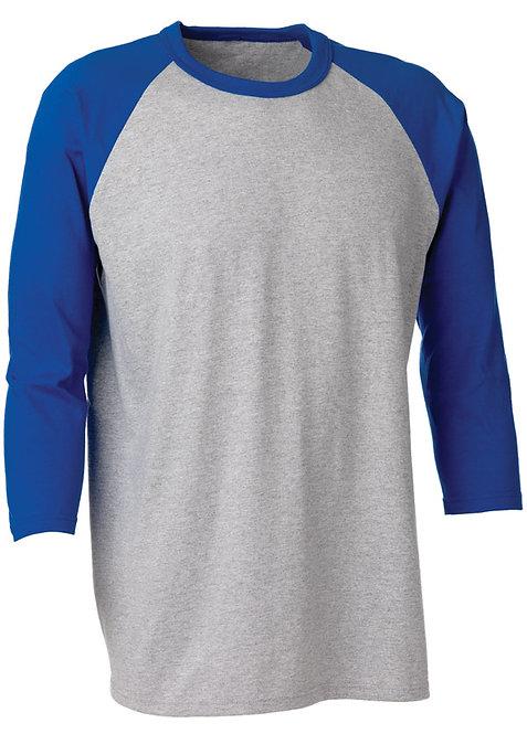 KF934 Baseball 3/4 Sleeve Shirt