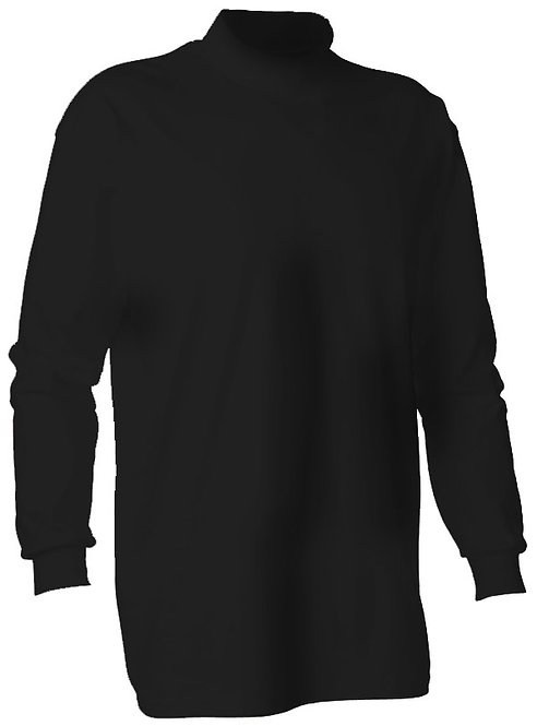 KY1132 Youth Mockneck Long Sleeve Shirt