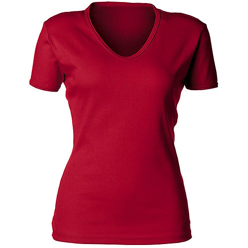 KF933 Ladies V-Neck Shirt