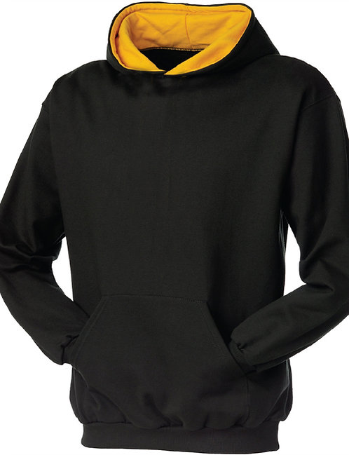 KY9041 Youth Double Hooded 2-Tone Pullover