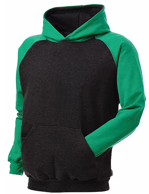KY4041 Youth 2Tone Raglan SuperSoft Pullover