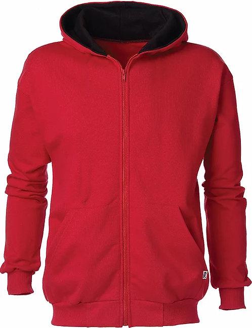 KY9047 Youth 2Tone Full Zip Hooded Jacket