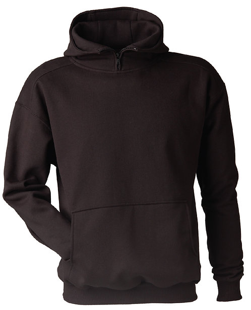 KF9085 Double Hooded High Collar Pullover