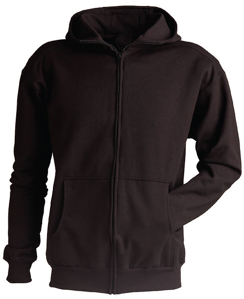 KF9086 Full Zip High Collar Hooded Jacket