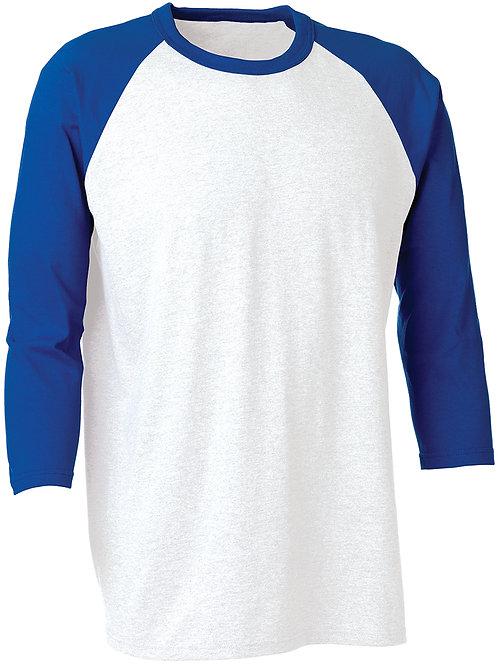 KY934 Youth 3/4 Sleeve Baseball Shirt